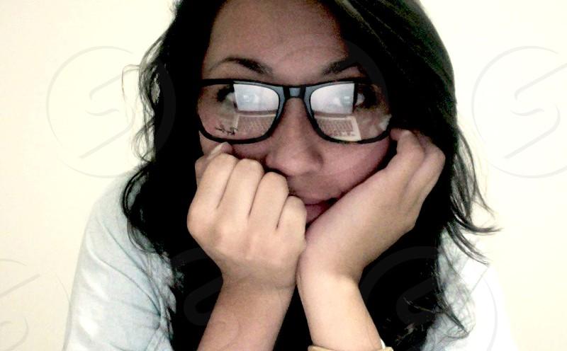 #brandnew #glasses #reflection #nerd photo