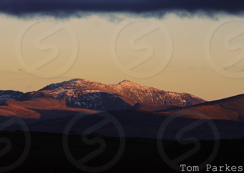 Snowdon from anglesey photo