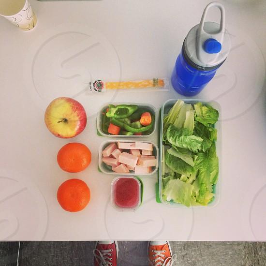 Food fresh color neat organization healthy photo