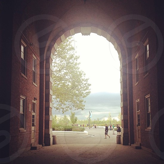 Governor's Island Archway  photo