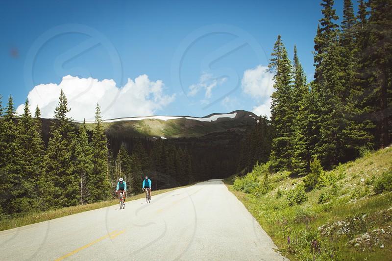 Nature biking adventure mountains active photo