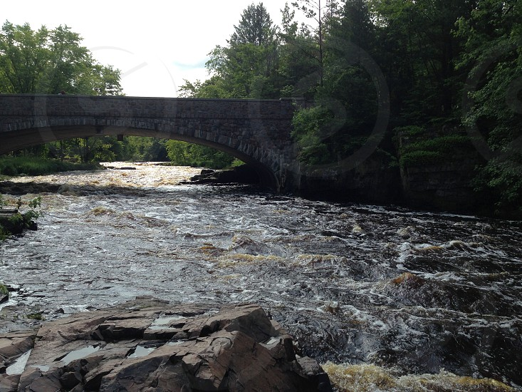 Dells of the Eau Claire Wisconsin    photo