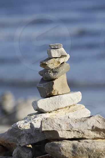 Balance and power. photo