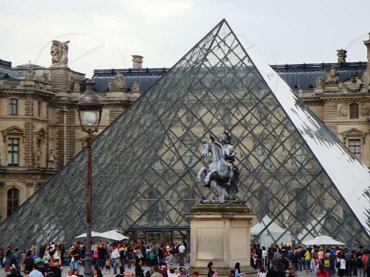 Paris - The louvre Museum photo
