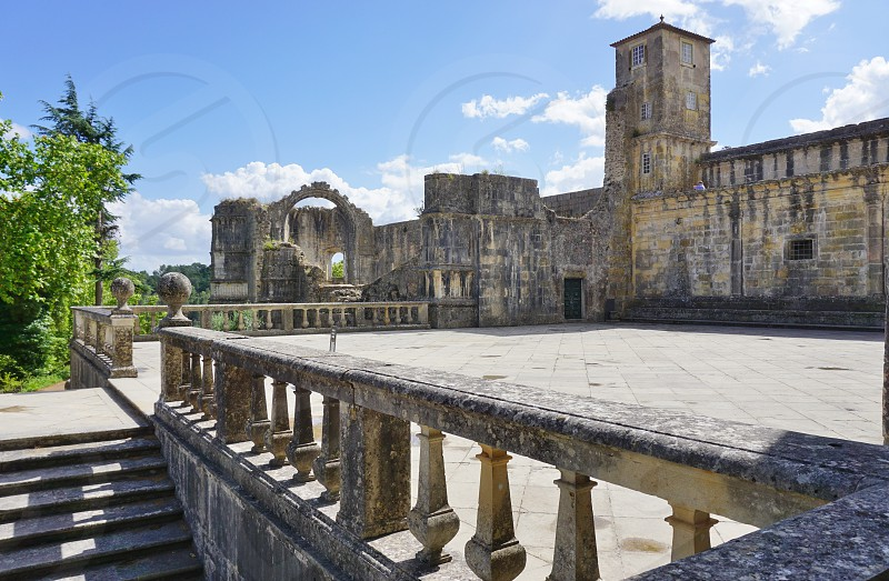 Convent of Christ - Tomar Portugal photo