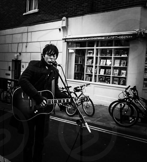 Hackney Busker photo