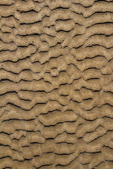 beach sand waves pattern texture brown wet color background photo