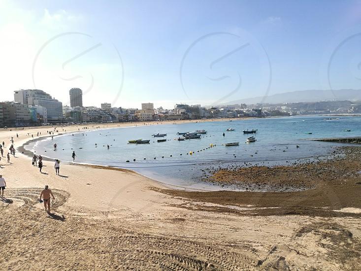 Las Palmas de Gran Canaria beach natural landscape photo