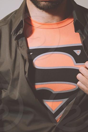 T-Shirt Superman Superhero Favorite Comfort Statement photo