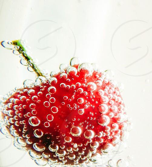 Bubbly cherry photo