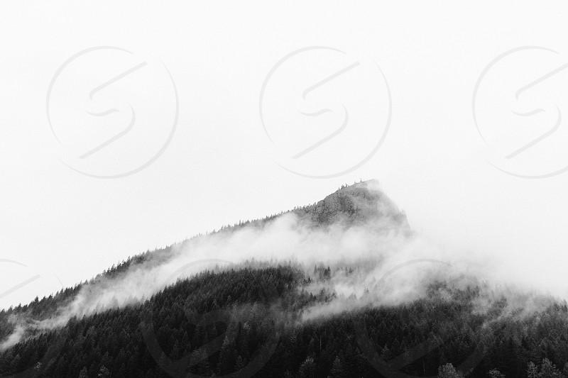Morning fog - Rattlesnake Ledge - Snoqualmie WA photo