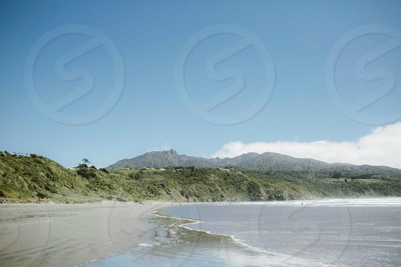 Raglan Beach NZ. photo