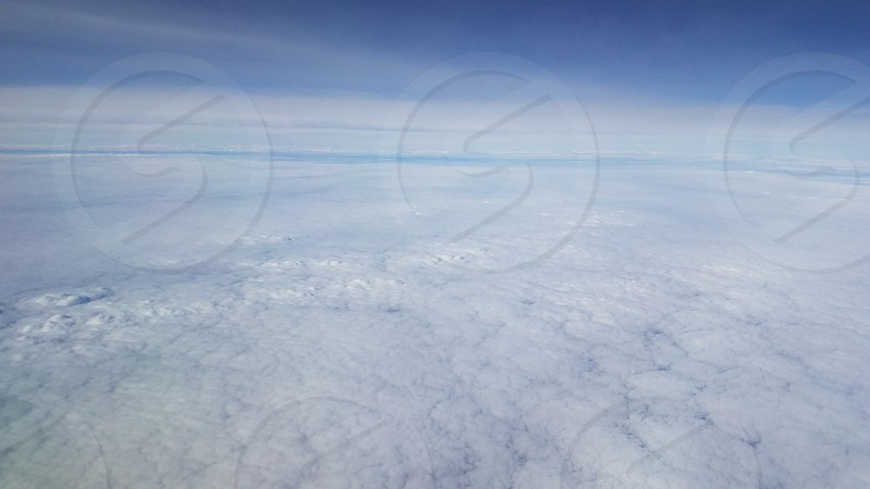 white sky photo