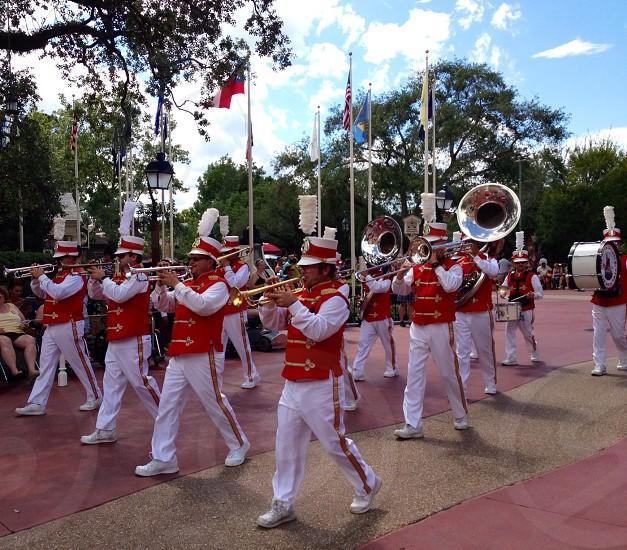 Disney world band photo