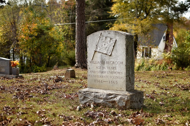Old grave site- Amelia Virginia  photo