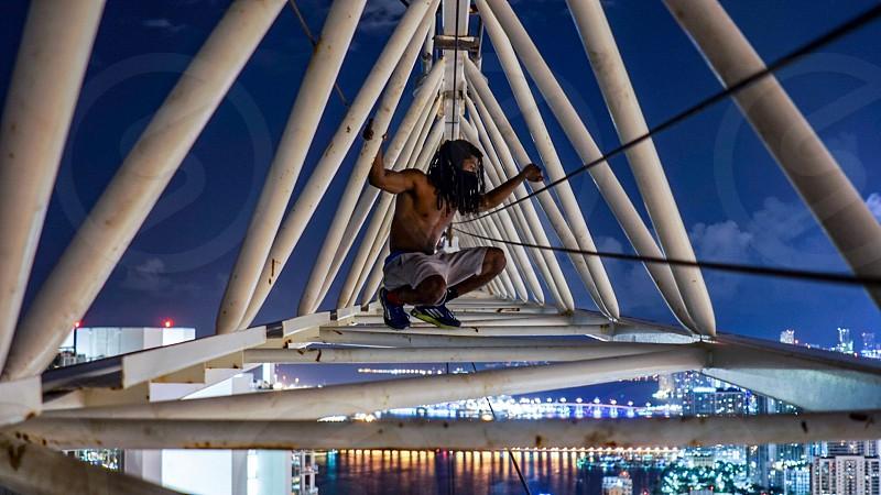 Urban exploration explorer explore parkour free running athlete fitness training architecture geometry ninja photo
