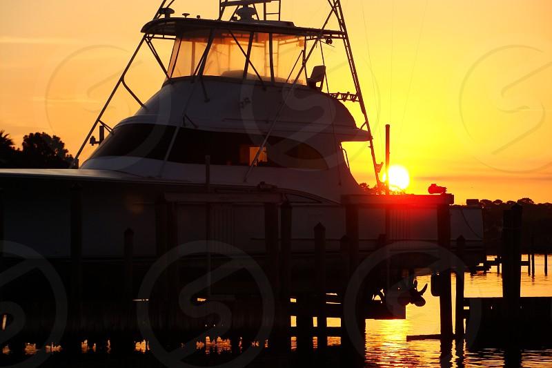 Panama City deep sea fishing. photo