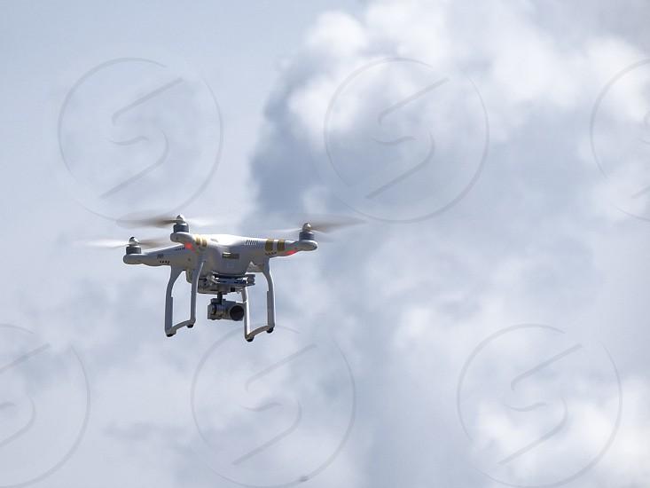 Drone in action Ubatuba SP Brazil         photo