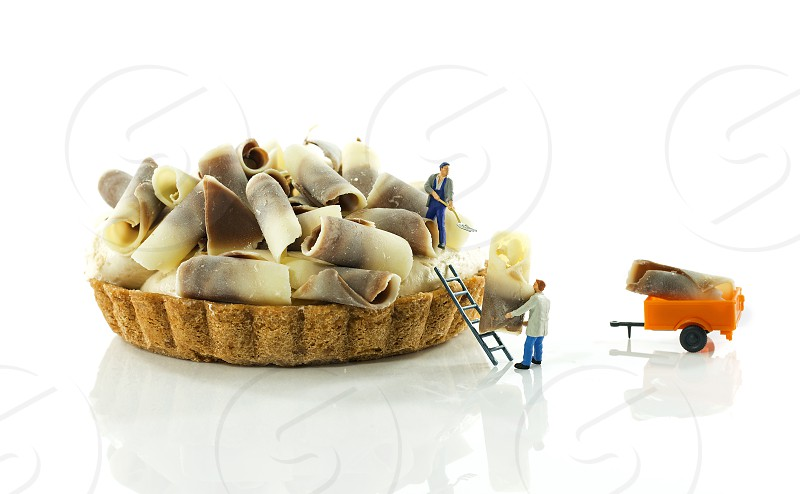 Making Pastry by little people photo