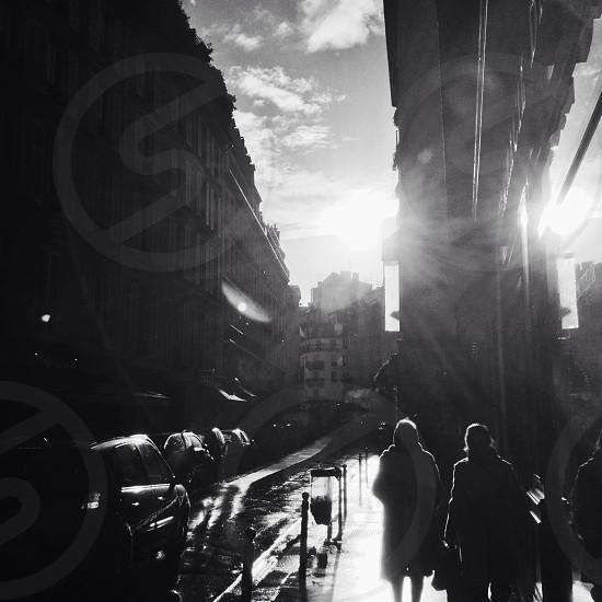 Walking in Paris photo