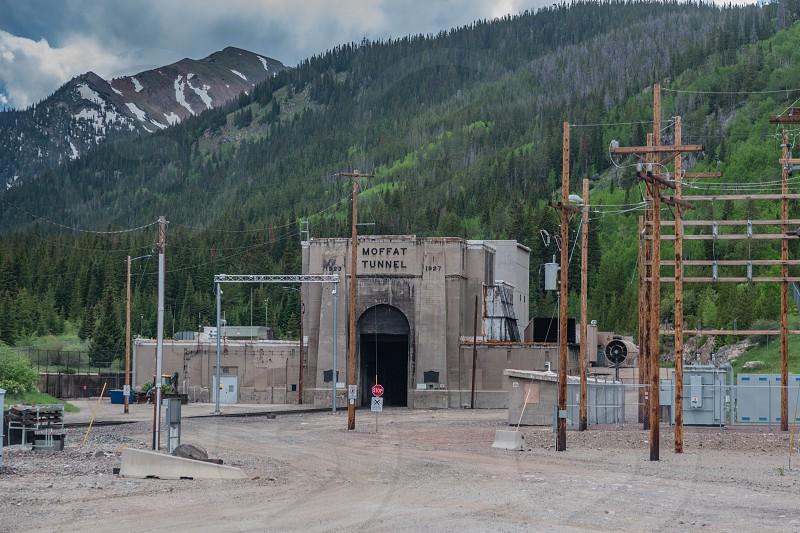 Mofatt rail Tunnel located between Denver and Winter Park Colorado photo