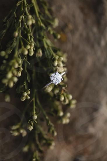 Ring shot ring engagement ring diamond photo