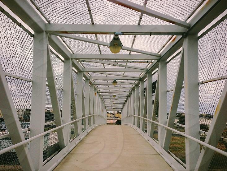 white bridge view photo