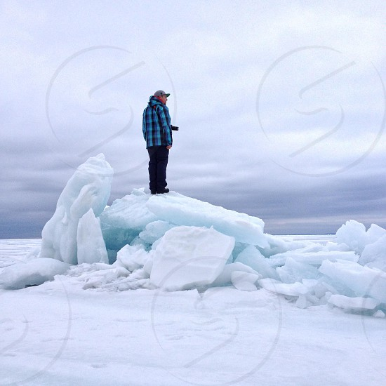 ice mountain - cross open water & ice to make it to this mountain. proceed with caution - ice roads only. photo