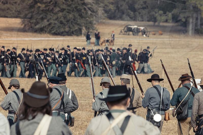 Civil  war civil war union  confederate slavery soldiers fight guns gunfire  photo