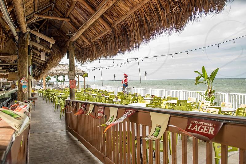 Jimmy Johnson's big chill  key largo  sports bar  florida  restaurant  photo