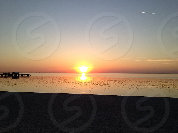 Sunset Malmo Sweden photo