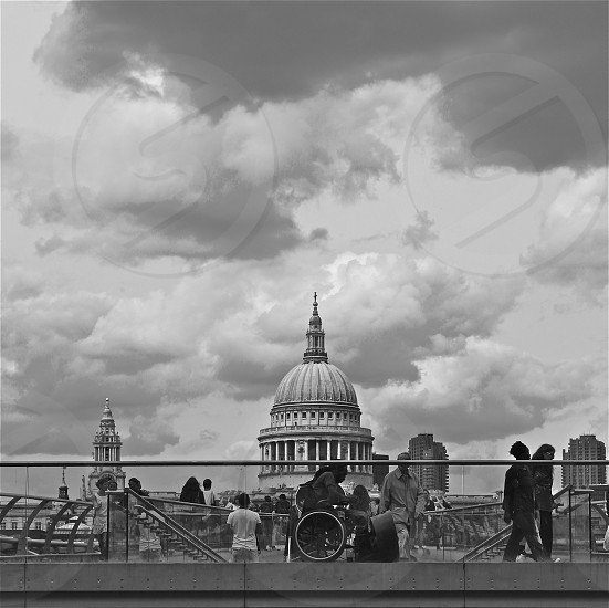View of St.Paul's from The Tate Modern photo