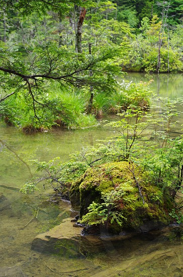 in Japan Kamikochi photo