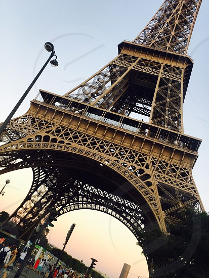 RomanticcityParisFranceEiffel Towerarchitectureuniqueperfectbeautiful  photo
