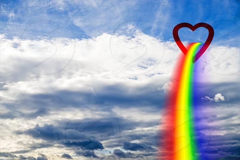 rainbow to heaven photo