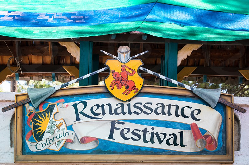 Impressions from the Renaissance festival in Colorado photo