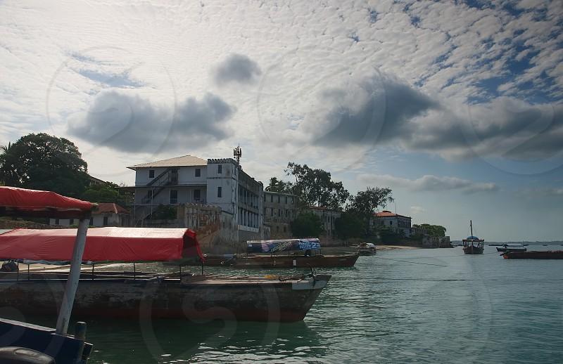 Zanzibar city - waterfront - Tanzania - Africa photo