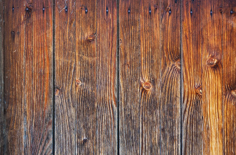 Texture details of an old wooden wall. photo