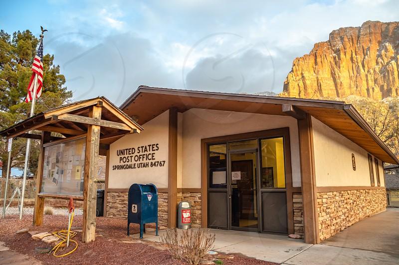 Post Office in Springdale Utah  photo