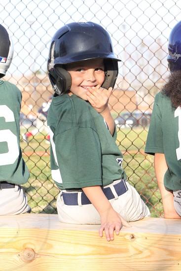 Baseball boy photo