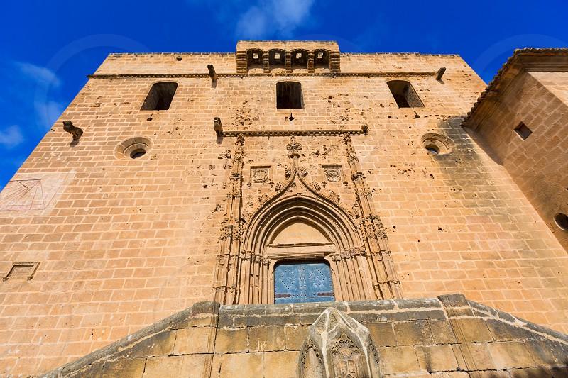 Javea Xabia Sant Bertomeu church in Alicante Spain photo