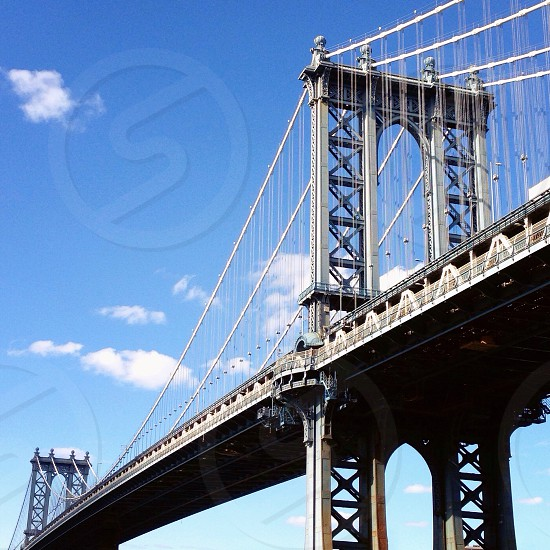 Manhattan Bridge NYC photo