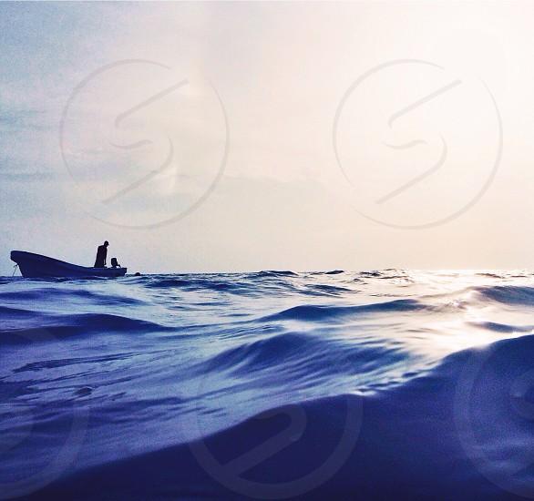 Lost at sea... photo