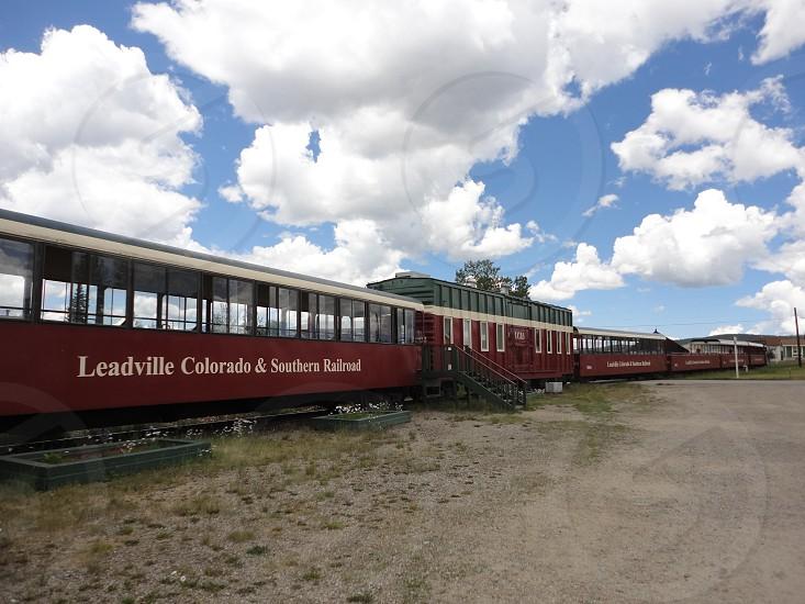 Leadville Colorado & Southern Railroad USA 10152 FT アメリカ合衆国コロラド州レッドビル市 標高3094メートルの町 photo