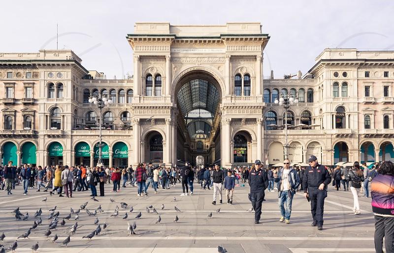 Milan Galleria Vittorio Emanuele II photo