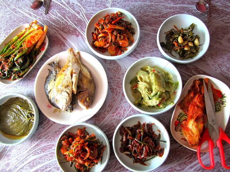 korean dish  photo