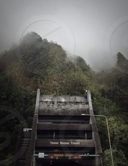 tetsuo harano tunnel through mountain photo