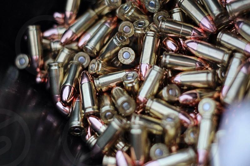 9mm ammunition  photo