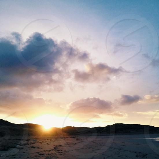 sunrise panoramic view photo