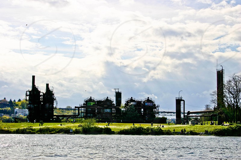 Gasworks Park photo